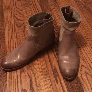 Frye boots, worn twice.